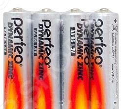 Набор батареек солевых Perfeo R6/4SH