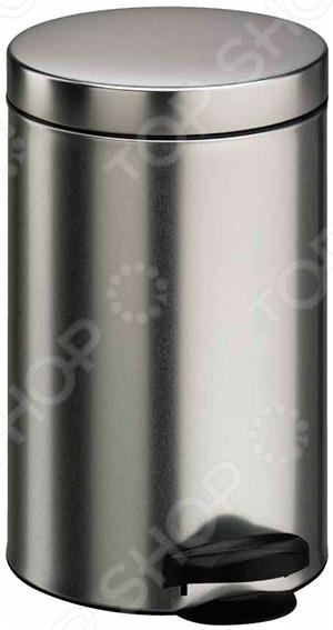 купить Ведро для мусора Meliconi «Матовый стальной» по цене 2155 рублей