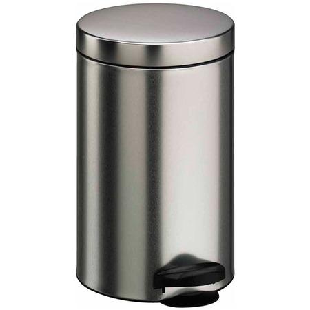 Купить Ведро для мусора Meliconi «Матовый стальной»