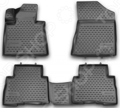 Комплект 3D ковриков в салон автомобиля Novline-Autofamily KIA Sorento 2012-2015 комплект ковриков в салон автомобиля novline autofamily kia sorento 2003