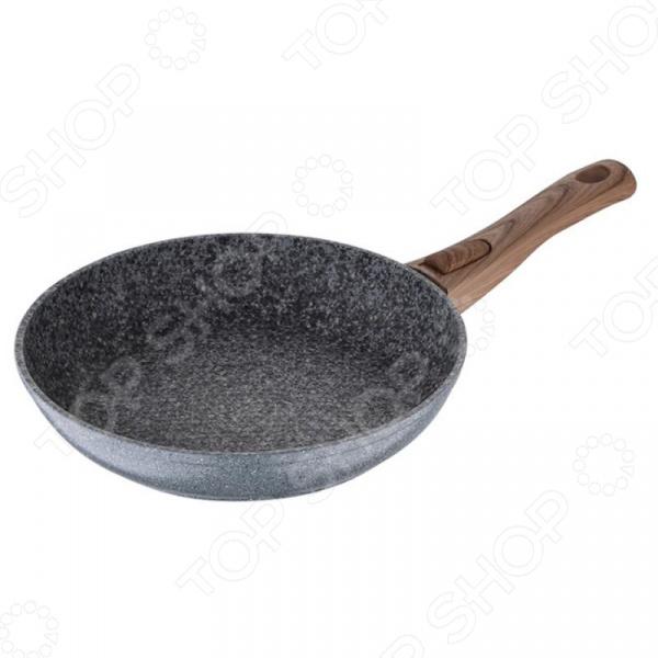 Сковорода со съемной ручкой Wellberg Eco Natural