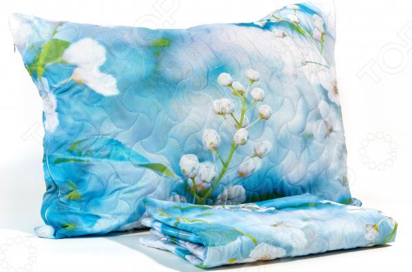 Фото - Наволочка декоративная Сирень «Яблоневый сад» декоративные подушки ганг декоративная наволочка bowen 40х40