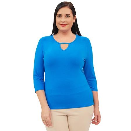 Купить Блуза Матекс «Каролина». Цвет: голубой
