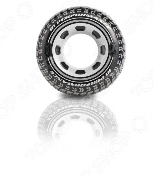 Круг надувной Intex «Колесо» круги и нарукавники для плавания intex круг детский с ручками пират 107 см