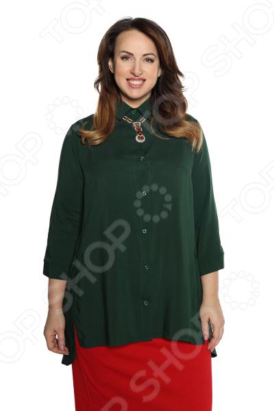 Рубашка Pretty Woman «Край чудес». Цвет: темно-зеленый рубашка pretty woman сладкое счастье цвет бежевый