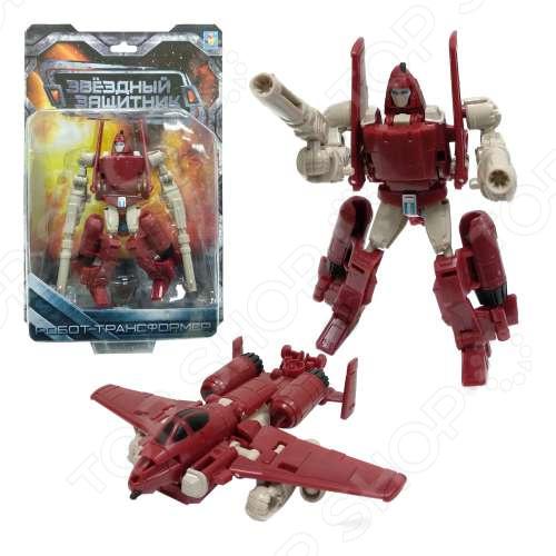 Игрушка-трансформер 1 Toy «Звездный защитник» Т59371 трансформер 1 toy звездный защитник космолет красный черный