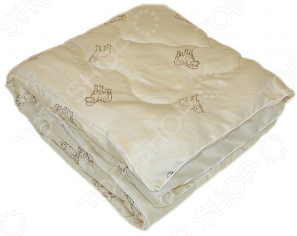 Одеяло с овечьей шерстью «Природный дар»