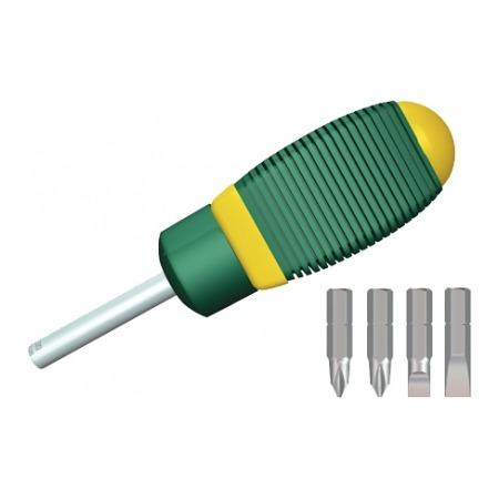 Купить Отвертка реверсивная с битами Kraftool Expert Midi 26146-H5
