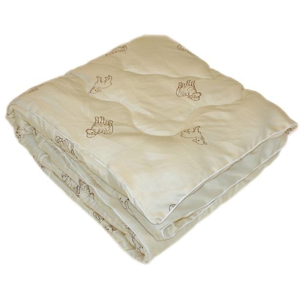фото Одеяло с овечьей шерстью «Природный дар». В ассортименте