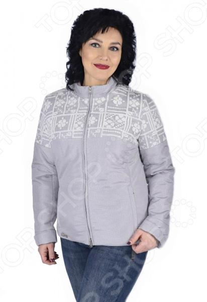 Куртка D`imma «Женева». Цвет: бежевый