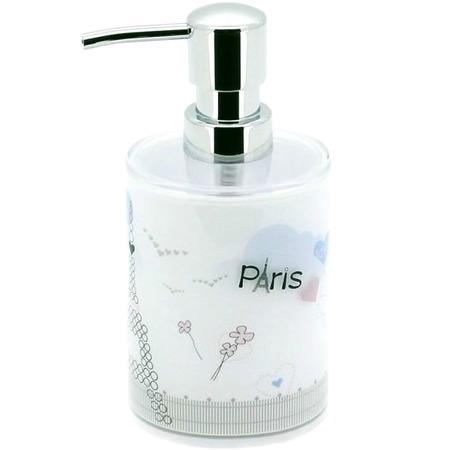 Купить Диспенсер для мыла Tatkraft Paris Mademoiselle Acryl 3D