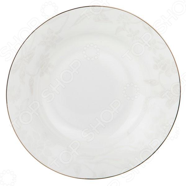 Тарелка суповая Japan Sakura «Снежная королева» 440-207 королева н блюда для торжества и банкета