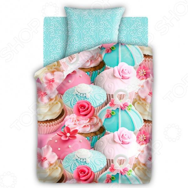 Детский комплект постельного белья 4You Капкейк