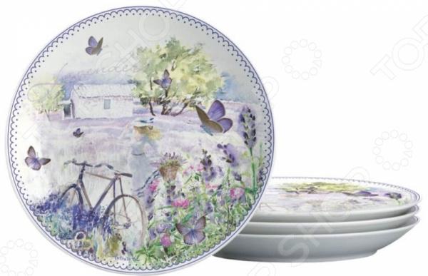 Набор тарелок десертных Gift'n'Home «Лаванда»