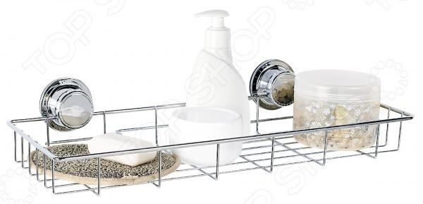 Полка для ванной Tatkraft Vacuum Screw Ferdinand