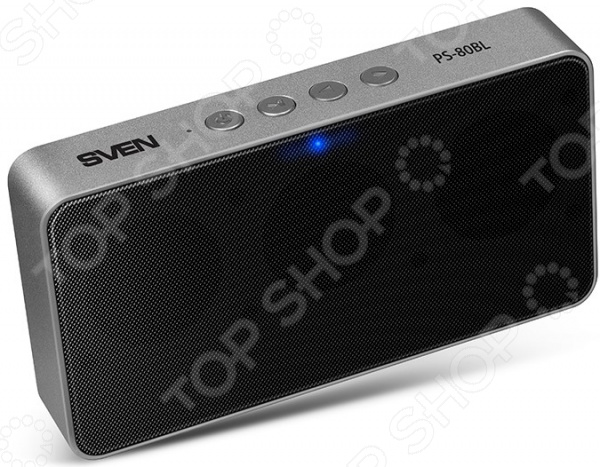 Система акустическая портативная Sven PS-80BL система акустическая портативная sven ps 420