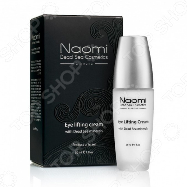 Лифтинг-крем для кожи вокруг глаз Naomi Eye lifting cream with Dead Sea minerals naomi dead sea cosmetics набор по уходу за ступнями