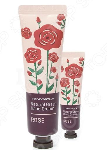 Крем для рук TONY MOLY Natural Green «Роза» крем для рук