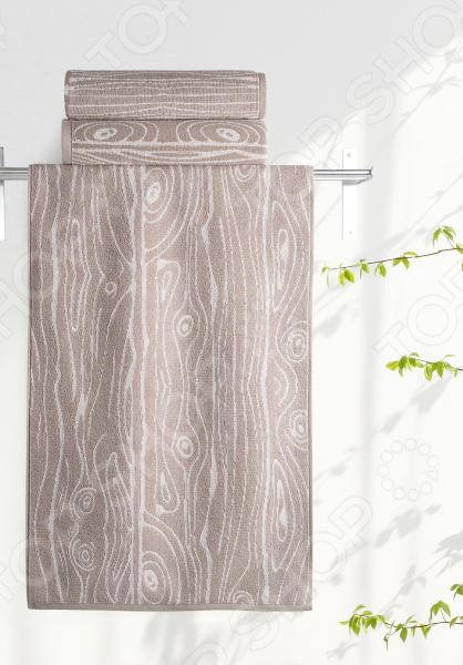 Полотенце махровое Aquarelle «Мербау вид 3». Цвет: мокко, бежевый полотенце махр aquarelle таллин 35х70см мокко