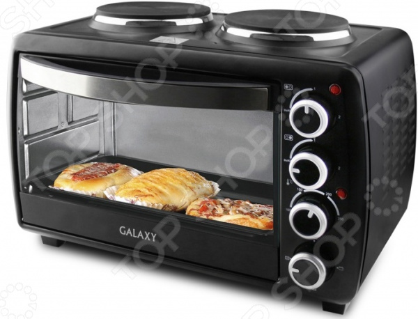 Мини-печь Galaxy «Русский пекарь» микроволновые печи bosch микроволновая печь