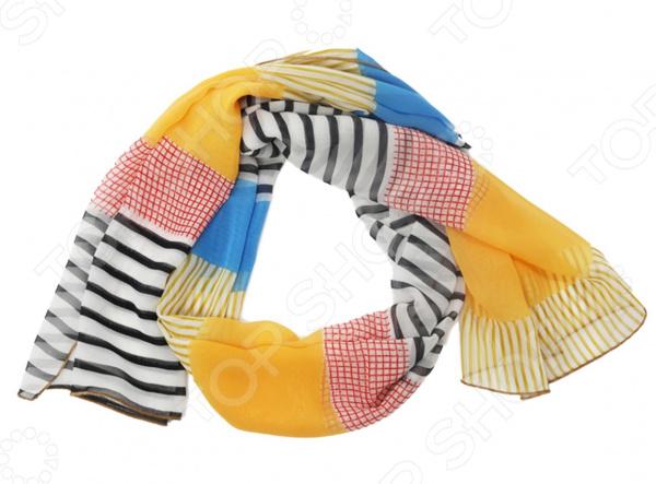 Шарф в ассортименте Гранд Гром «Конфетти» туника гранд гром ассорти идей цвет коричневый