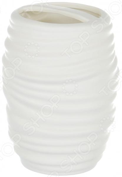 Подставка для зубных щеток Elrington ZM-1310345-03 umbra подставка для зубных щеток touch белая m opj nbr