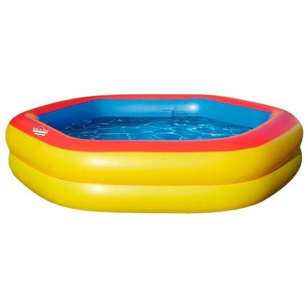 Купить Бассейн надувной Jilong Giant Hexagon Pool JL016015NPF
