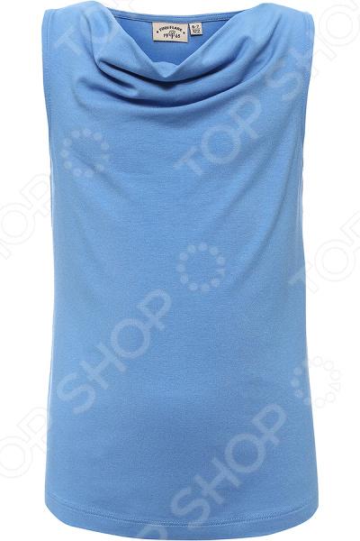 Майка для девочки Finn Flare Kids KS16-71066. Цвет: голубой