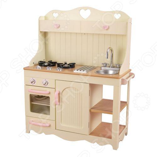 Кухня детская с аксессуарами KidKraft «Прерия»