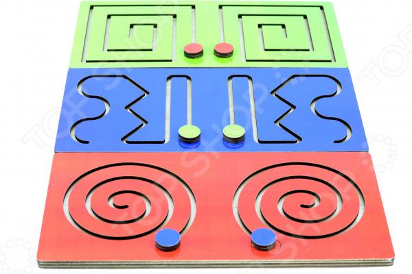 Игра настольная развивающая PAREMO «Полушарные доски»
