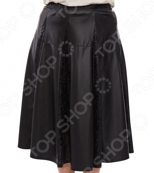 Юбка Pretty Woman «Бажена». Цвет: черный юбка woman цвет черный