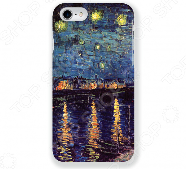 Чехол для iPhone 7 Mitya Veselkov «Ван Гог: Ночь над Роной» чехол для iphone 5 mitya veselkov ван гог ночь над роной