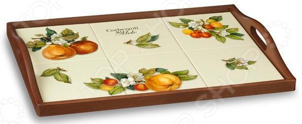 Поднос Nuova Cer «Итальянские фрукты» поднос овальный микс фрукты 927954