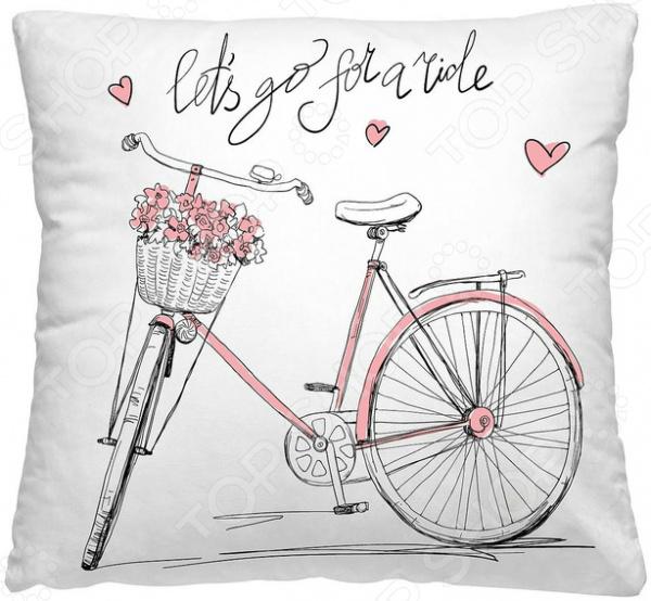 Подушка декоративная Волшебная ночь «Велосипед»