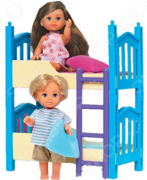 Набор кукол Simba «Еви с братиком» evi игровой набор simba еви с братиком с двухъярусной кроваткой 12 см