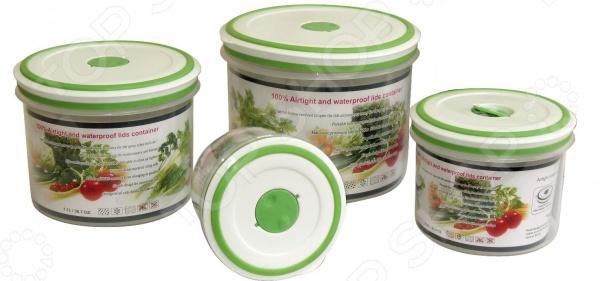 Набор контейнеров для продуктов Oriental Way GL9056-В