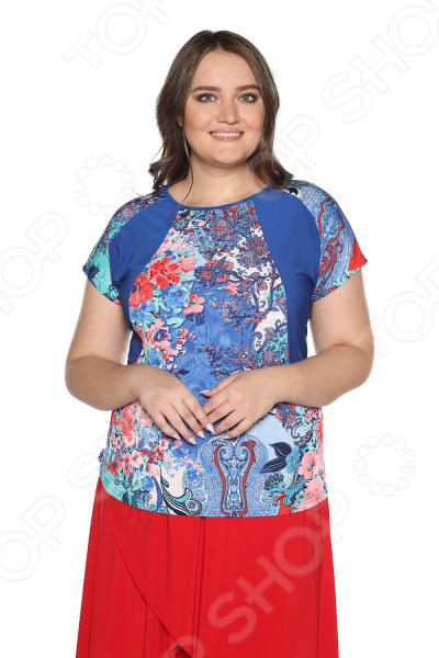 Туника Лауме-Лайн «Утонченный силуэт». Цвет: васильковый туника лауме стиль галла цвет васильковый