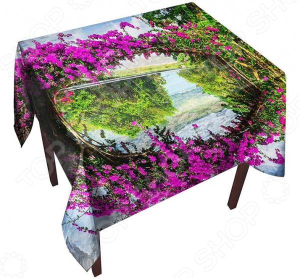 все цены на Скатерть ТамиТекс «Цветочная арка» онлайн