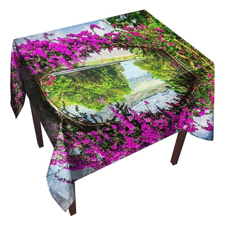 Купить Скатерть ТамиТекс «Цветочная арка»