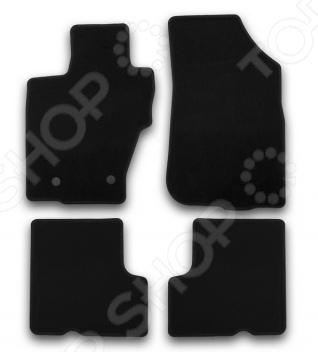 Комплект ковриков в салон автомобиля Klever Nissan Terrano 2014 Econom б/р комплект ковриков в салон автомобиля klever nissan almera 2012 econom