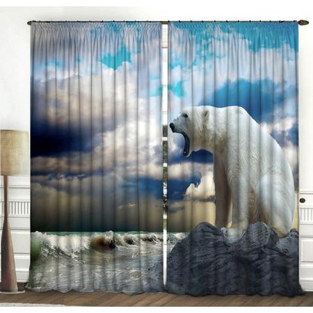 Купить Фотошторы ТамиТекс «Белый медведь»