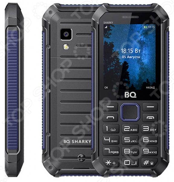 Мобильный телефон BQ 2434 Sharky мобильный телефон bq mobile bq 2434 sharky black blue