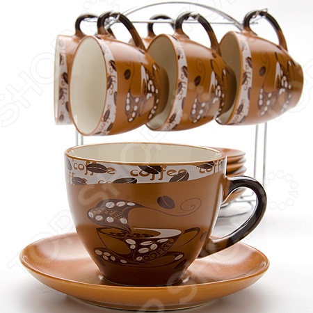 Чайный сервиз Loraine LR- 23540 чайный набор loraine lr 24697 0 23 л керамика розовый