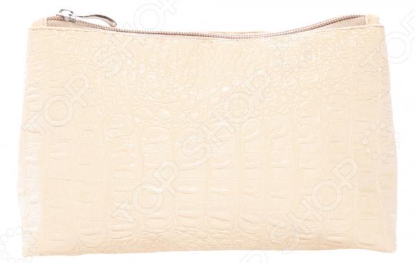 Косметичка Laura Amatti «Оливера». Цвет: бежевый юбка laura amatti лот 1029 цвет бежевый