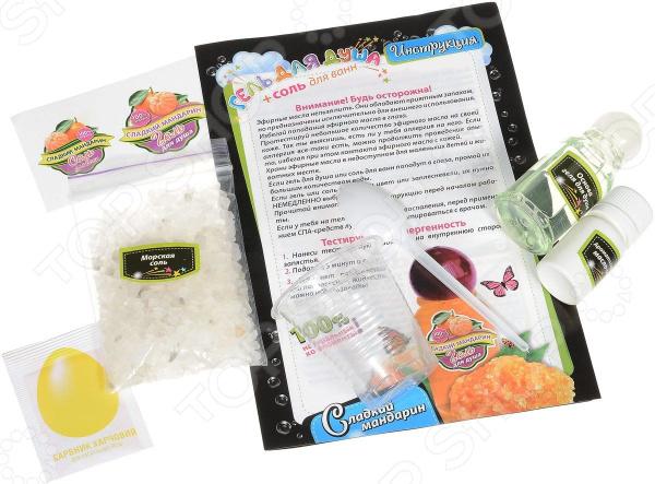 Набор для детского творчества Ранок «Сладкий мандарин» набор для детского творчества ранок фоторамочка 2 в 1 настроение и принцесса