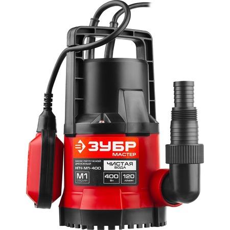 Купить Насос погружной дренажный для чистой воды Зубр НПЧ-М1-400