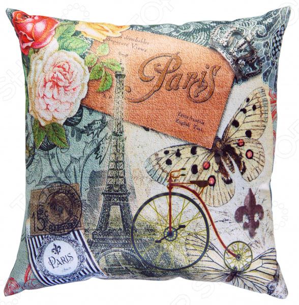 Подушка декоративная Gift'n'Home «Парижские мотивы»