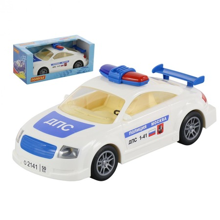 Купить Машинка инерционная игрушечная POLESIE «ДПС. Москва»