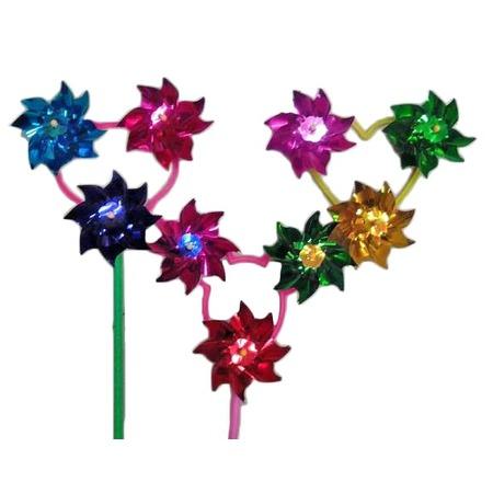 Купить Игрушка-вертушка Shantou Gepai голографическая «Трехцветик». В ассортименте