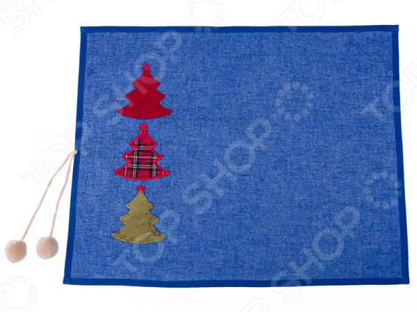 Салфетка для сервировки «Елка» 850-817-81 салфетка сервировочная vesta dosh i home салфетка сервировочная vesta